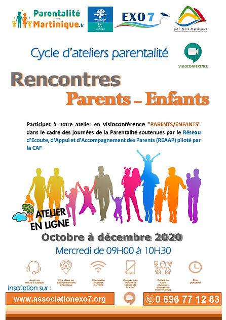 Affiche REAAP_Atelier Rencontres Parents