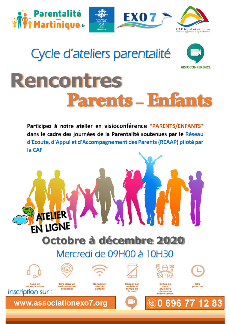 Affiche REAAP_Atelier Rencontres Parents