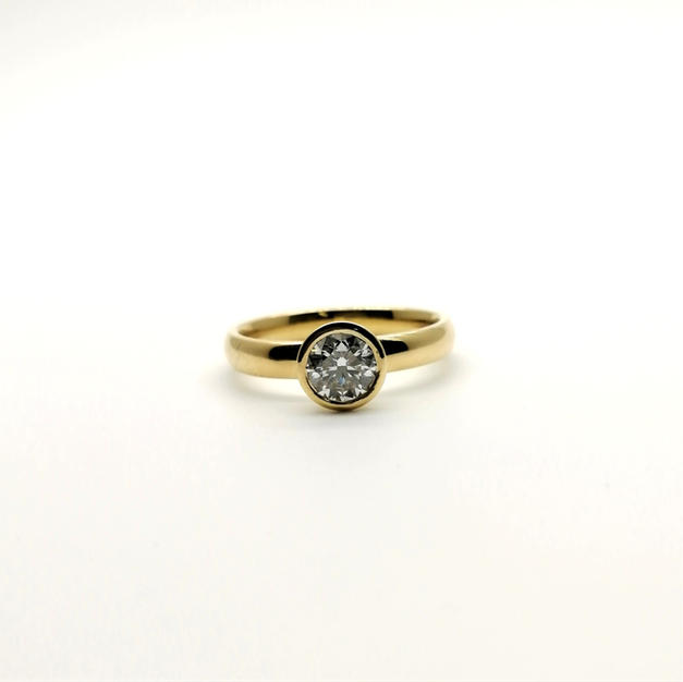 0.70ct Diamond Ring
