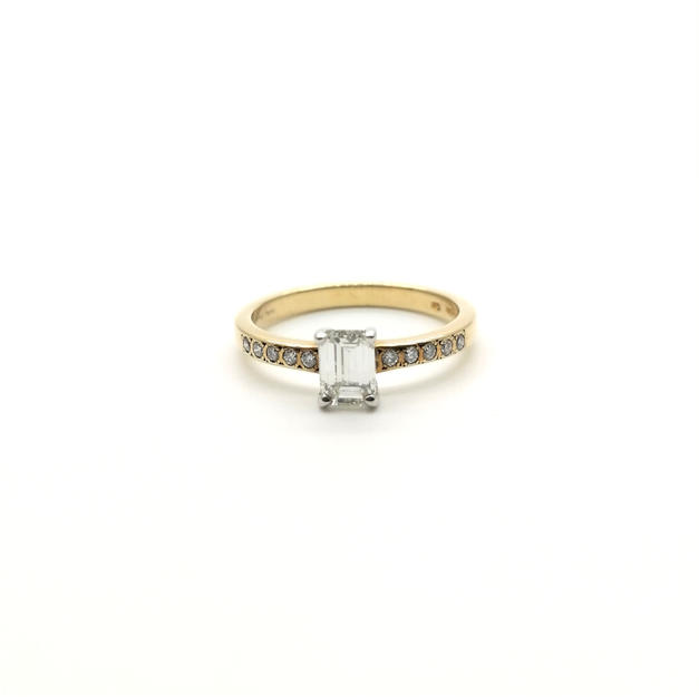 0.49ct Diamond Ring