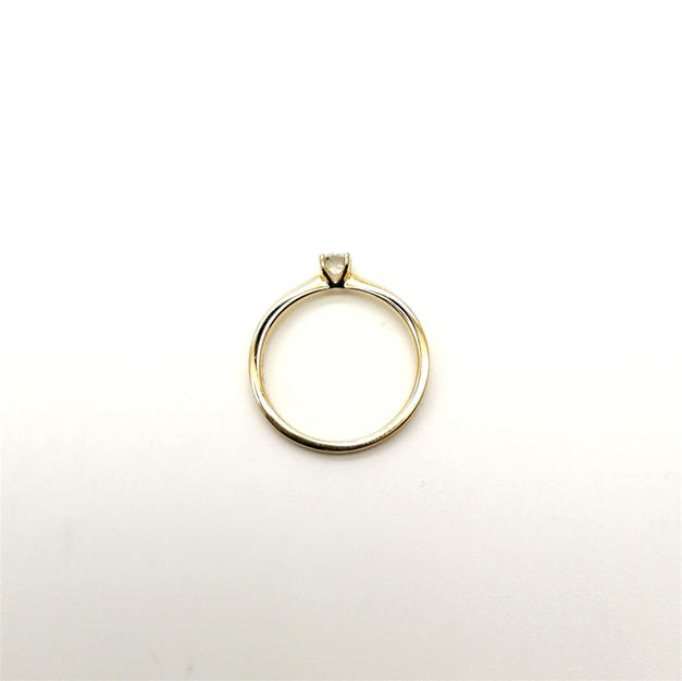 18ct gold 4-claw setting CSA058