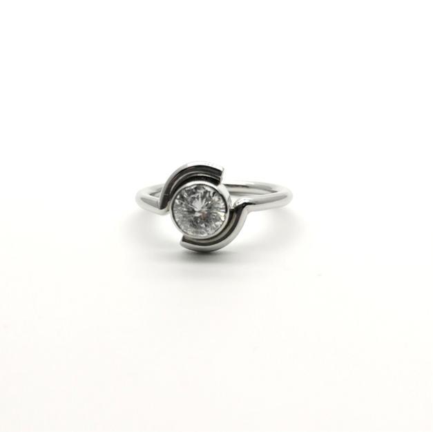 0.88ct Diamond Ring