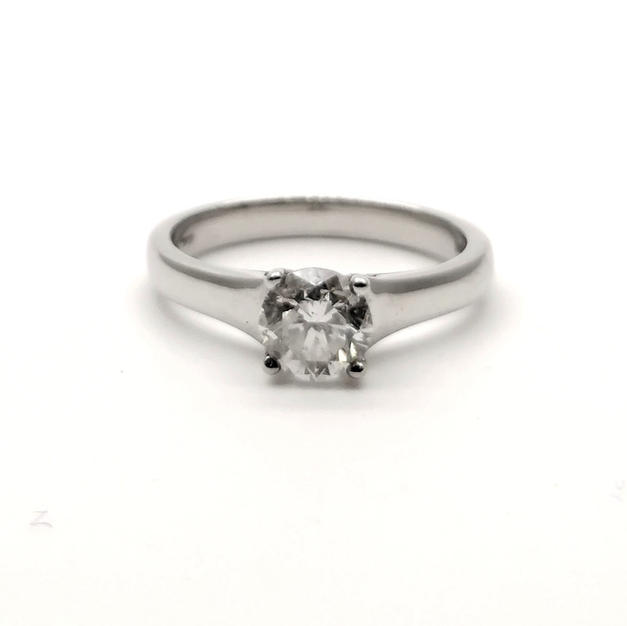 0.81ct Diamond Ring