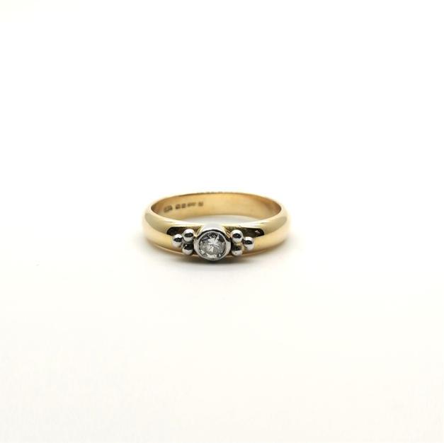 0.20ct Diamond Ring