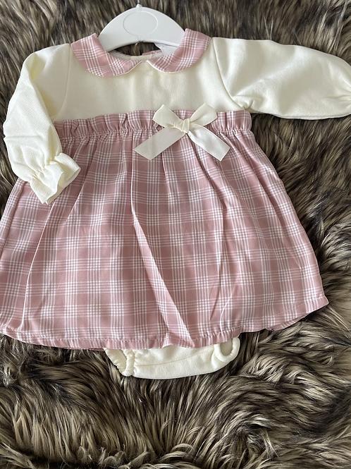Daisy Cheque Dress