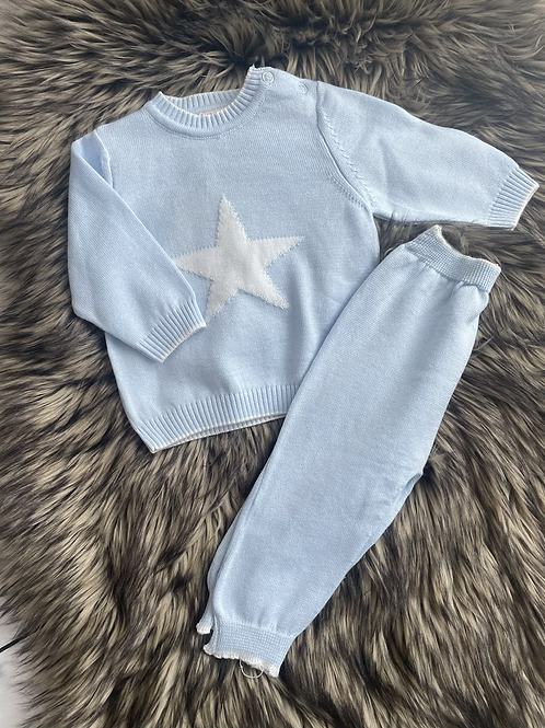 Star Knitted Jog Suit