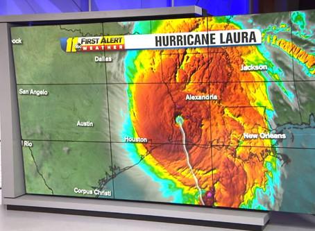 Eric Holthaus, Bryn Stole - Hurricane Laura Postscript, Climate Change