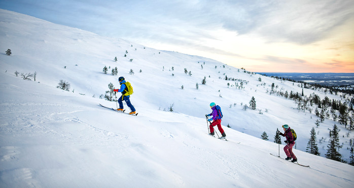 Vapaalaskukuvitusta / Ylläs Ski Resort