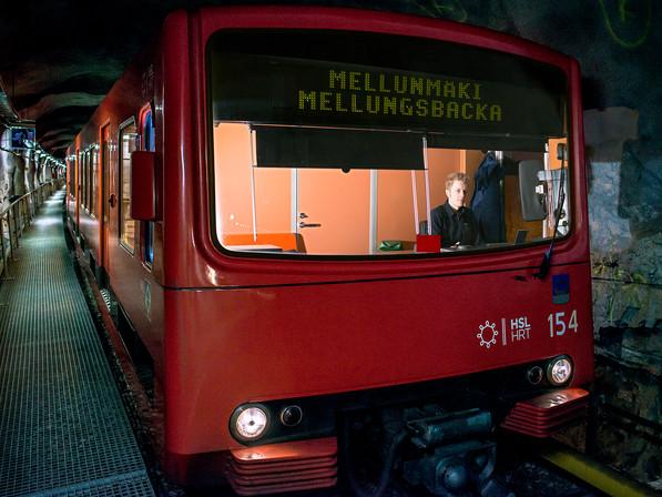 Luottokuskit, metrokuljettaja Samuli Rasimus / H2 -lehti