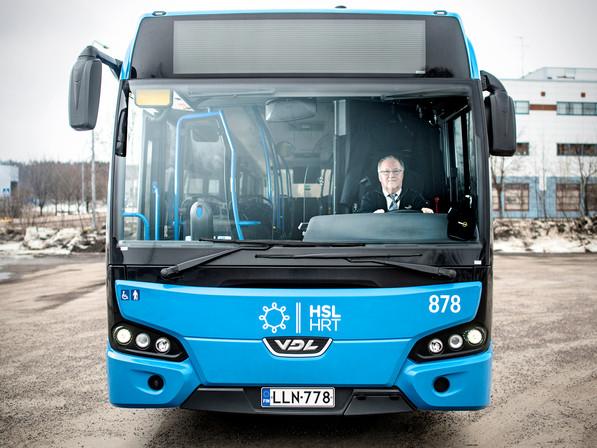 Luottokuskit, linja-autonkuljettaja Seppo Majuri / H2 -lehti