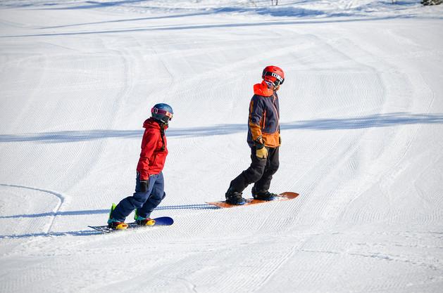 Hiihtokeskuksen markkinointimateriaalia / Ylläs Ski Resort