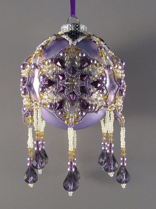 Snow Diamond Ornament Class 9/6  2-5
