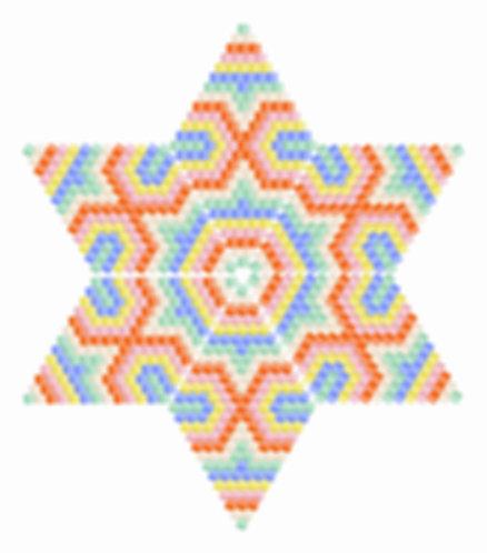 3/4   1-3 PM Charra Puffy Star Ornament Classes