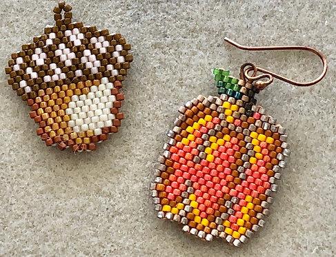 Pumpkin or Acorn Earring Class  10/26  3-5