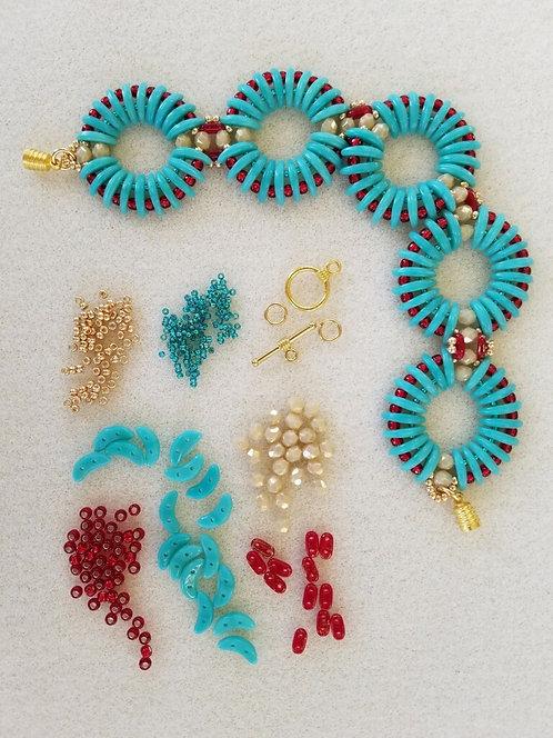 Rippling Ovals Bracelet Kit