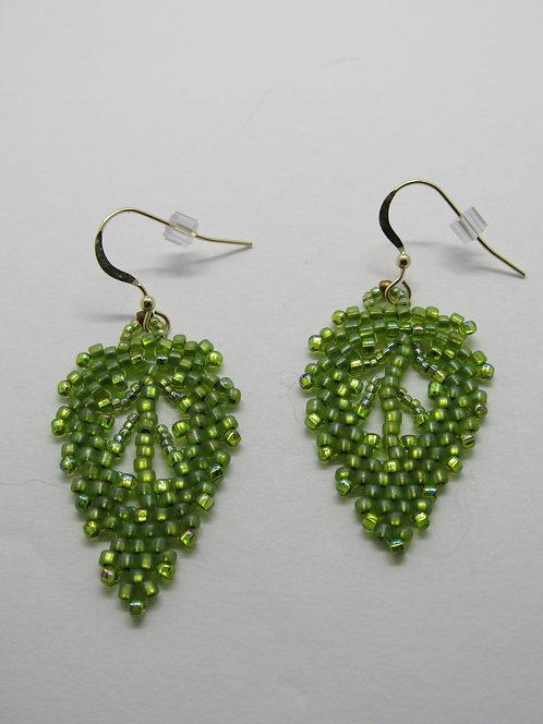 4/11  2-4  Russian Leaf Earring Class
