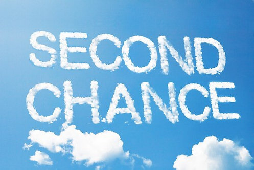 Second Chance Class  June 29  10 - 8