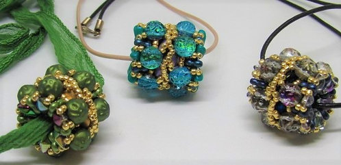 Patti Parker's Imperial Beads & Necklace Class Aug 11 (1:30-4:30)