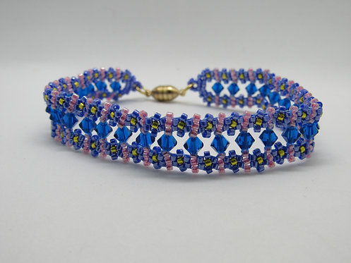 4-1  2-4 Blossom Byway Bracelet Class