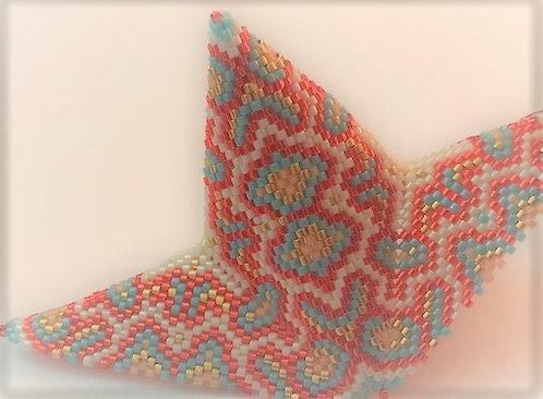 4/19  5-8 PM Majestic Orient Puffy Star Ornament Classes