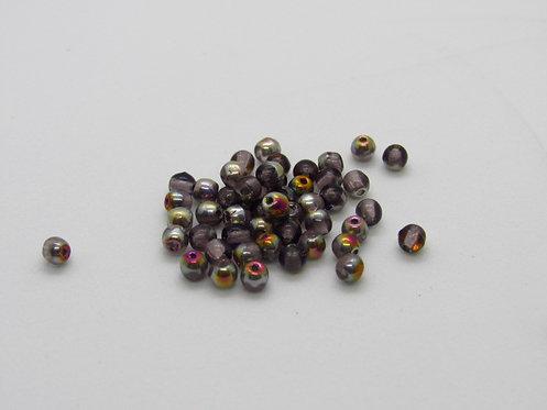3 mm Druk - Amethyst Marea - 50 Pc Pack