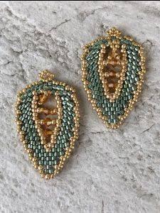 Fancy Fronds Earrings Class Nov 14  2-4