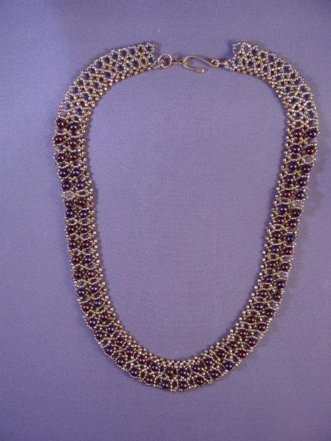 1/14  12-2 Simple Elegance Necklace Class