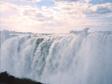 Viktoriafälle, Simbabwe, Victoria Falls, Knife Edge