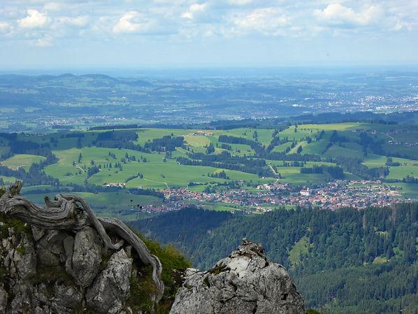 Faltenmolasse, Allgäu, Wertach