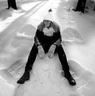 Anna Sellén snöängel