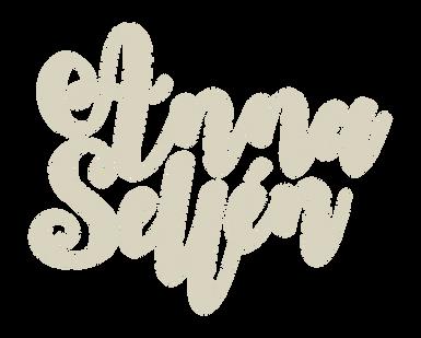 Anna Sellén logotype vit