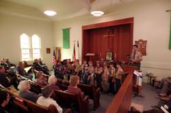 Boy Scout Sunday