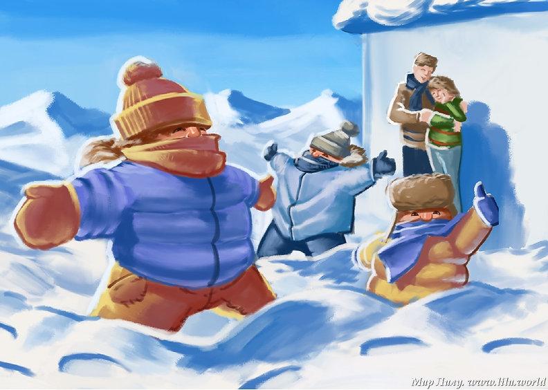 Второй признак наступления зимы - это шерстяные носки, варежки, шарфы, шапки и свитера, которые заботливые мамочки надевают на своих детей в невероятных количествах.