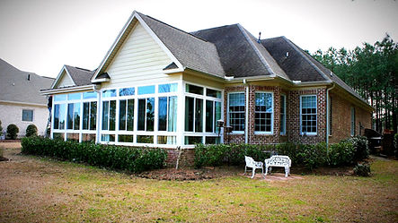 4 Season sunrooms built by Porch Conversion of Wilmington NC