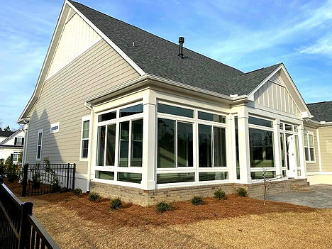 Sunroom Contractor located in Wilmington NC, that serves Southport NC, Saint James NC, Shallotte NC, Oak Island NC, Ocean Isle Beach NC and Calabash NC.