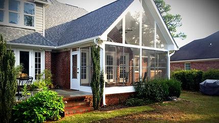 3 Season sunrooms built by Porch Conversion of Wilmington NC