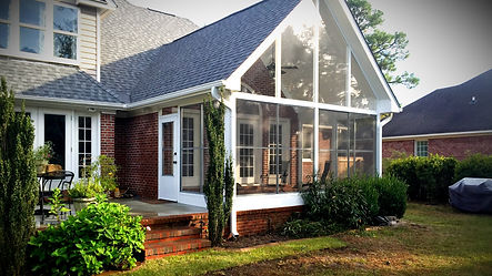 3 Season sunrooms built by Porch Conversion of Wilmington NC