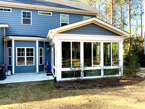 Sunroom builder in Leland NC, Wrightsville Beach NC, and Carolina Beach NC.