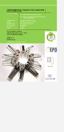 Environmental Product Declaration PVC wi