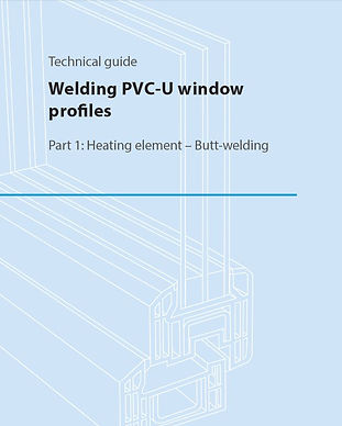 Welding PVC-U window profiles.JPG