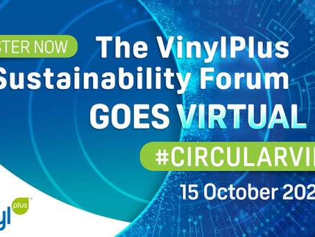 Virtual VinylPlus® Sustainability Forum 2020: Register now