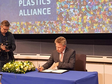 EPPA signed the declaration of Circular Plastics Alliance