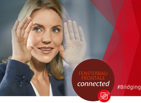 EPPA is involved in the Fensterbau Frontale online exhibition programme