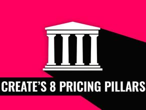 CREATE'S 8 PRICING PILLARS