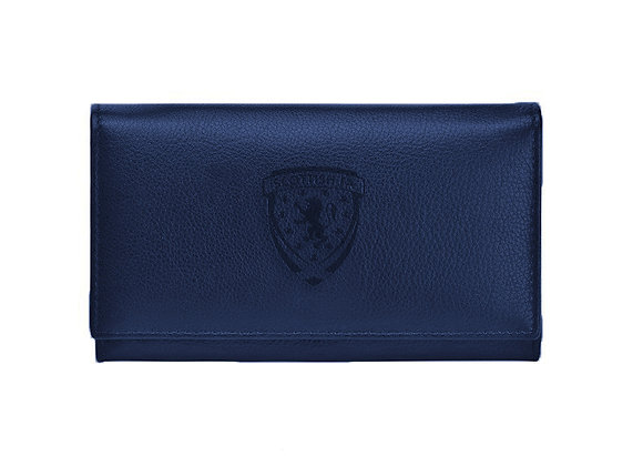 Embossed Nappa Leather Purse