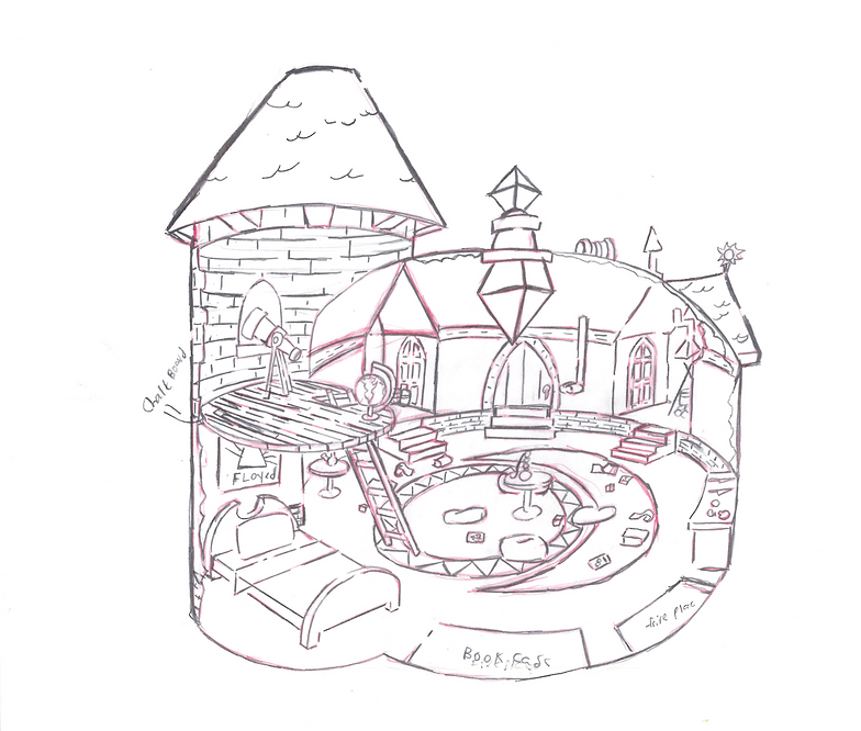Portfolio Wizard House Design on fairy house, beast house, munchkin house, shaman house, mystic house, chameleon house, alchemist house, hobbit house, puppet house, winged house, elf house, arab house, wicked witch of the west house, wiseman house, knight house, blob house, icicle house, the shire house, black cat house, withered house,