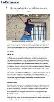 La Provence 24 juillet 2015