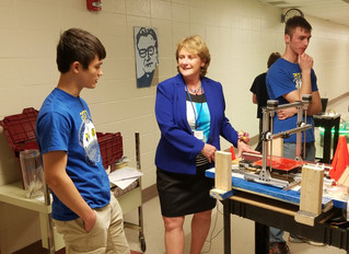 Laser Robotics Team's Public Open House at KM High School