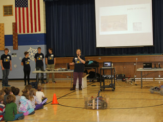 Cushing Elementary Science Day