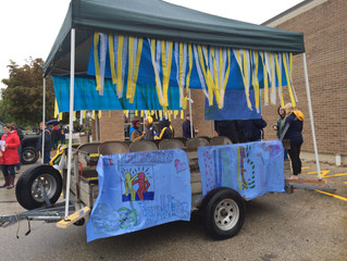 Building the Best Buddies Homecoming Parade Float
